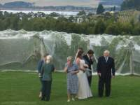 Bride - Groom and Grandparents